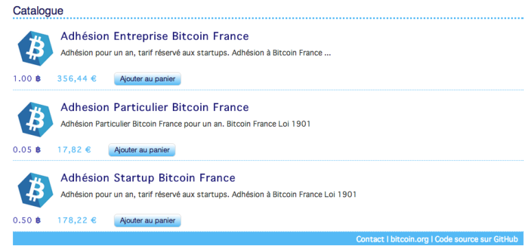 Adhérer à l'association Bitcoin France